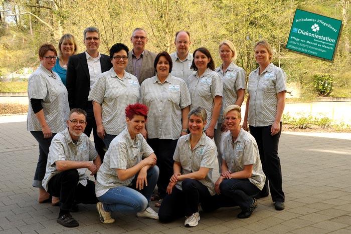 Das Team der Diakoniestation Emmendingen und Freiamt