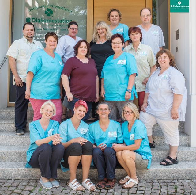 Team der Diakoniestation Emmendingen-Freiamt gGmbH