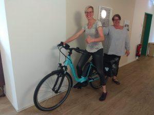 E-Bike im ambulanten Pflegedienst